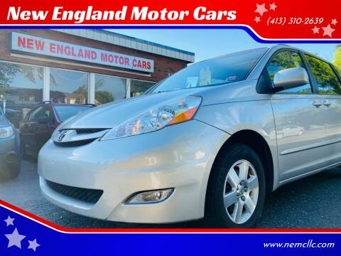 2010 Toyota Sienna for sale at New England Motor Cars in Springfield MA