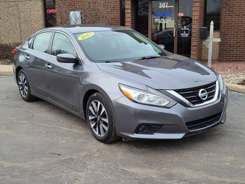 2017 Nissan Altima for sale at Mighty Motors in Adrian MI