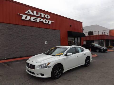 2014 Nissan Maxima for sale at Auto Depot of Smyrna in Smyrna TN