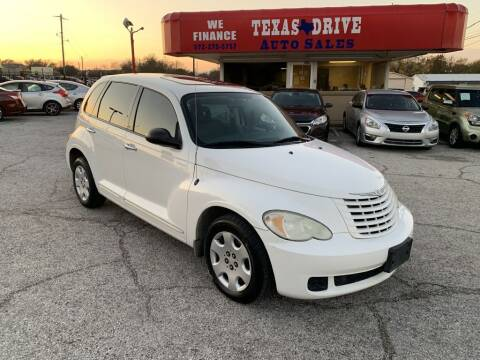 2008 Chrysler PT Cruiser for sale at Texas Drive LLC in Garland TX