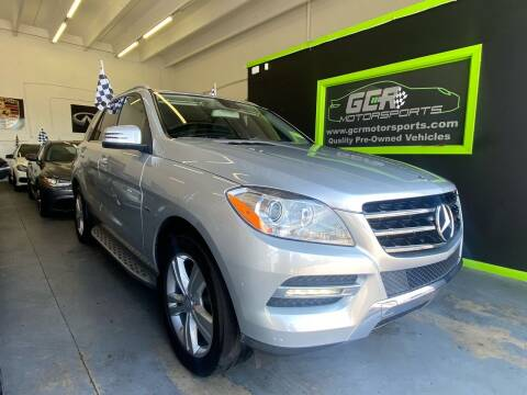 2012 Mercedes-Benz M-Class for sale at GCR MOTORSPORTS in Hollywood FL
