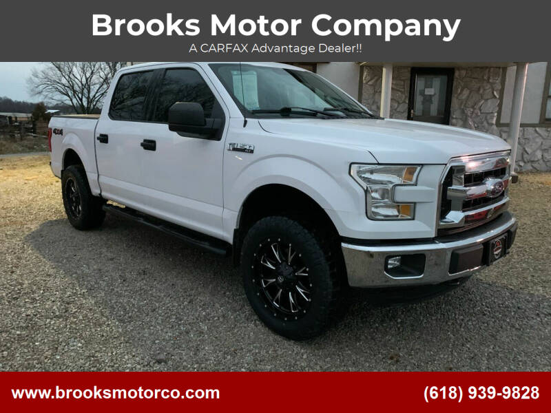 2016 Ford F-150 for sale at Brooks Motor Company in Columbia IL