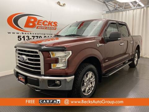 2017 Ford F-150 for sale at Becks Auto Group in Mason OH