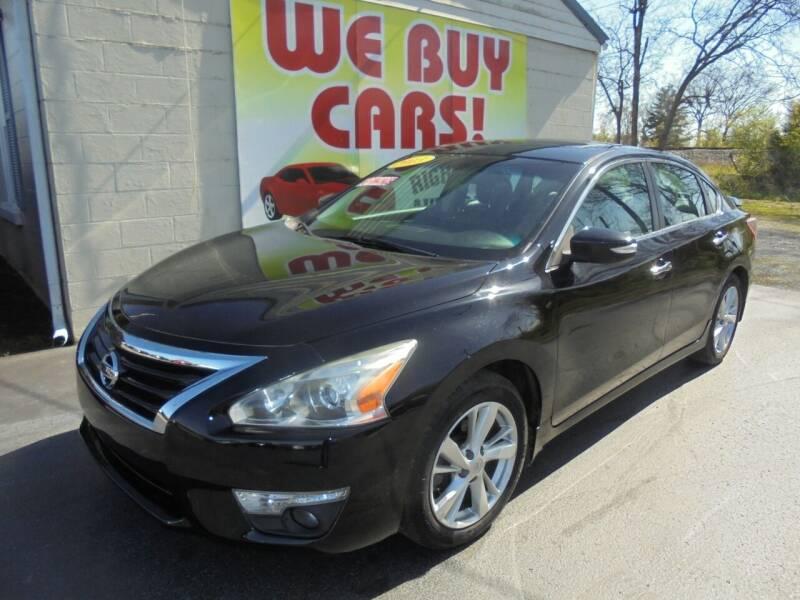 2013 Nissan Altima for sale at Right Price Auto Sales in Murfreesboro TN