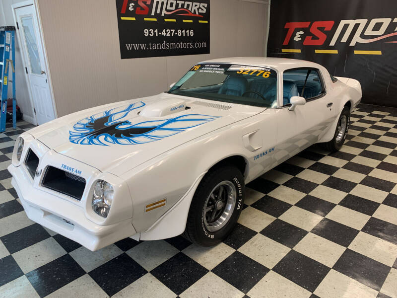 1976 Pontiac Trans Am for sale at T & S Motors in Ardmore TN