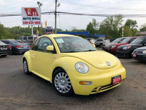 2000 Volkswagen New Beetle for sale at KB Auto Mall LLC in Akron OH