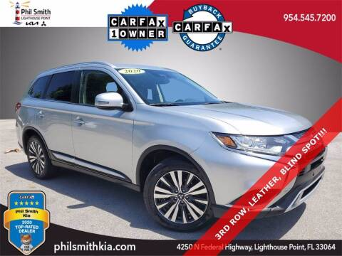2020 Mitsubishi Outlander for sale at PHIL SMITH AUTOMOTIVE GROUP - Phil Smith Kia in Lighthouse Point FL