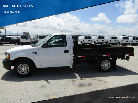 2001 Ford F-150 for sale at AML AUTO SALES - Flat Beds in Opa-Locka FL