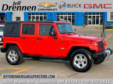 2015 Jeep Wrangler Unlimited for sale at Jeff Drennen GM Superstore in Zanesville OH