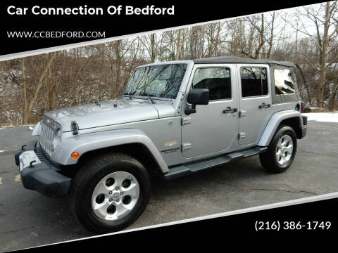 2015 Jeep Wrangler Unlimited for sale at Car Connection of Bedford in Bedford OH
