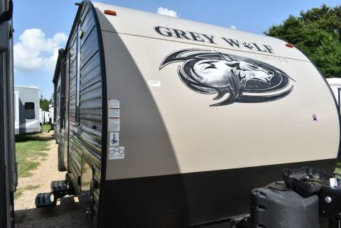 2018 Forest River Grey Wolf 29 DOUBLE QUEEN  for sale at Buy Here Pay Here RV in Burleson TX