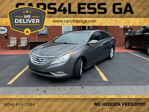 2012 Hyundai Sonata for sale at Cars4Less GA in Alpharetta GA