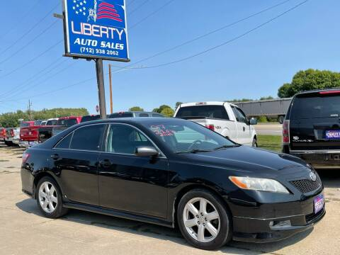 2007 Toyota Camry for sale at Liberty Auto Sales in Merrill IA