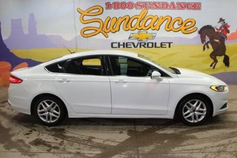 2016 Ford Fusion for sale at Sundance Chevrolet in Grand Ledge MI