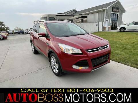 2015 Ford Escape for sale at Auto Boss in Woods Cross UT