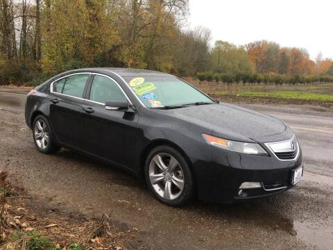 2013 Acura TL for sale at M AND S CAR SALES LLC in Independence OR