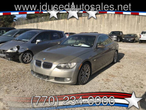 2007 BMW 3 Series for sale at J D USED AUTO SALES INC in Doraville GA