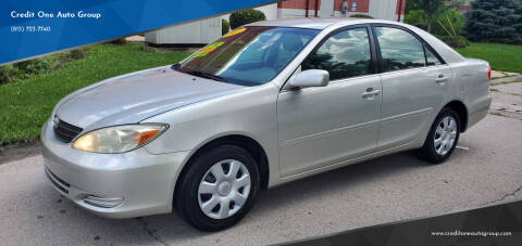 2003 Toyota Camry for sale at Credit One Auto Group in Joliet IL