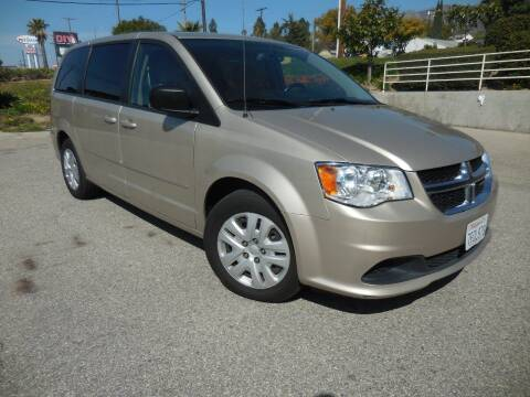 2015 Dodge Grand Caravan for sale at ARAX AUTO SALES in Tujunga CA
