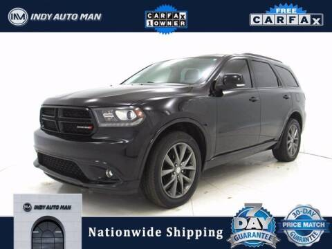 2018 Dodge Durango for sale at INDY AUTO MAN in Indianapolis IN