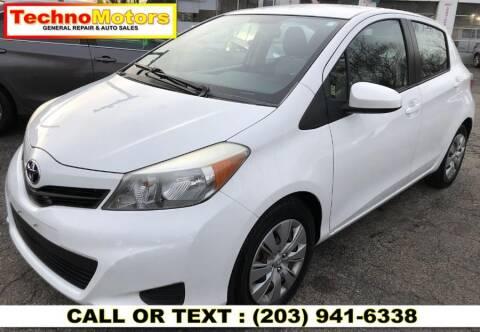 2012 Toyota Yaris for sale at Techno Motors in Danbury CT