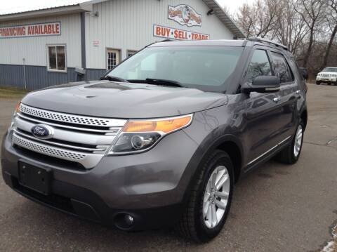 2013 Ford Explorer for sale at Steves Auto Sales in Cambridge MN
