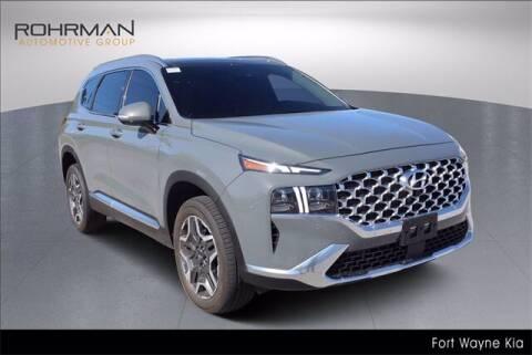 2021 Hyundai Santa Fe for sale at BOB ROHRMAN FORT WAYNE TOYOTA in Fort Wayne IN