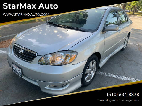 2005 Toyota Corolla for sale at StarMax Auto in Fremont CA
