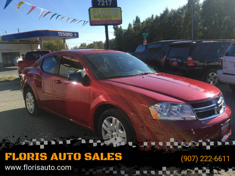 2012 Dodge Avenger for sale at FLORIS AUTO SALES in Anchorage AK