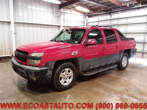 2002 Chevrolet Avalanche for sale at East Coast Auto Source Inc. in Bedford VA