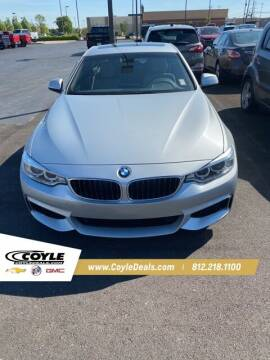 2017 BMW 4 Series for sale at COYLE GM - COYLE NISSAN - New Inventory in Clarksville IN