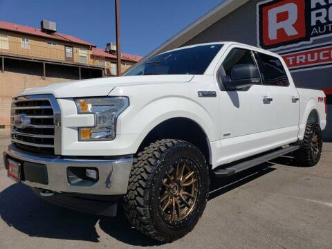 2017 Ford F-150 for sale at Red Rock Auto Sales in Saint George UT