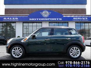 2014 MINI Countryman for sale at Highline Group Motorsports in Lowell MA