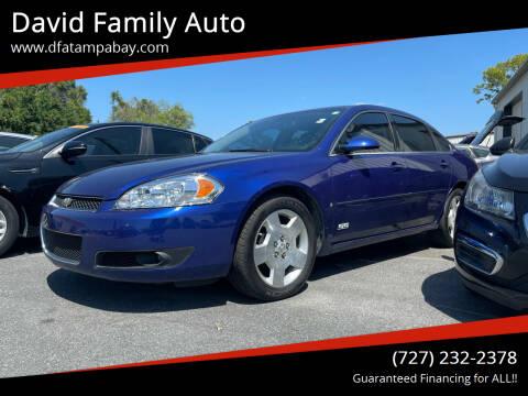 2007 Chevrolet Impala for sale at David Family Auto in New Port Richey FL