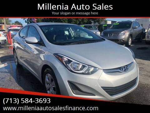 2016 Hyundai Elantra for sale at Millenia Auto Sales in Orlando FL