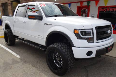 2014 Ford F-150 for sale at VISTA AUTO SALES in Longmont CO