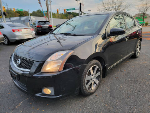 2012 Nissan Sentra for sale at Cedar Auto Group LLC in Akron OH