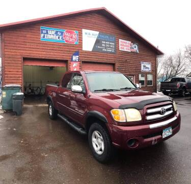 2004 Toyota Tundra for sale at WB Auto Sales LLC in Barnum MN