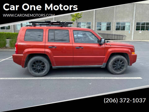 2009 Jeep Patriot for sale at Car One Motors in Seattle WA