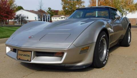 1982 Chevrolet Corvette for sale at WEST PORT AUTO CENTER INC in Fenton MO