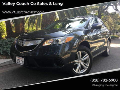 2013 Acura RDX for sale at Valley Coach Co Sales & Lsng in Van Nuys CA