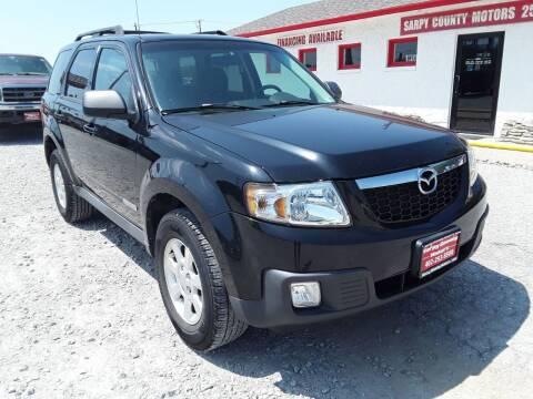 2008 Mazda Tribute for sale at Sarpy County Motors in Springfield NE