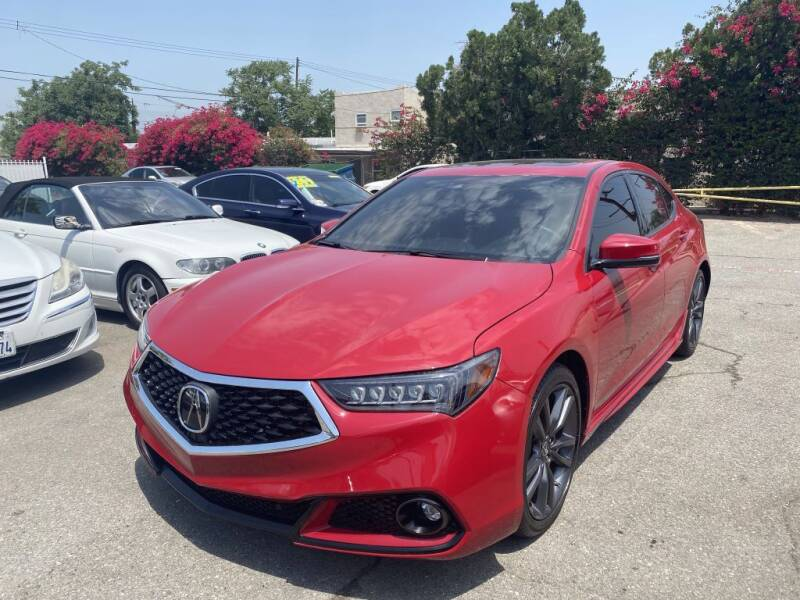 2018 Acura TLX for sale at AutoHaus in Colton CA
