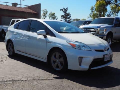 2015 Toyota Prius for sale at Corona Auto Wholesale in Corona CA