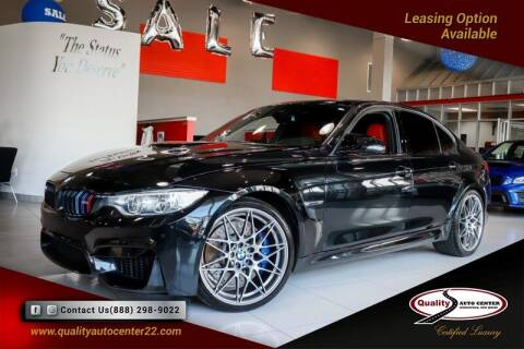 2017 BMW M3 for sale at Quality Auto Center of Springfield in Springfield NJ