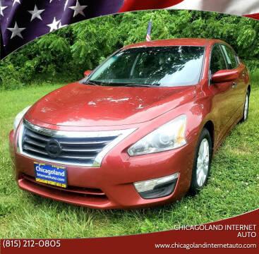 2014 Nissan Altima for sale at Chicagoland Internet Auto - 410 N Vine St New Lenox IL, 60451 in New Lenox IL