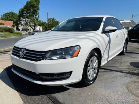 2012 Volkswagen Passat for sale at Capri Auto Works in Allentown PA
