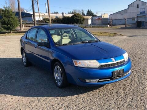 2004 Saturn Ion for sale at South Tacoma Motors Inc in Tacoma WA