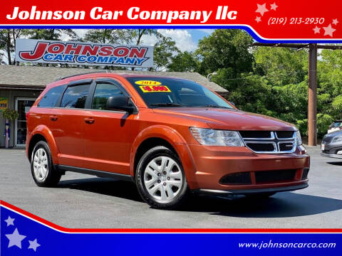 2014 Dodge Journey for sale at Johnson Car Company llc in Crown Point IN