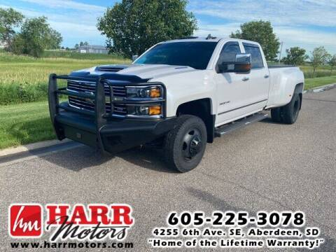 2018 Chevrolet Silverado 3500HD for sale at Harr Motors Bargain Center in Aberdeen SD